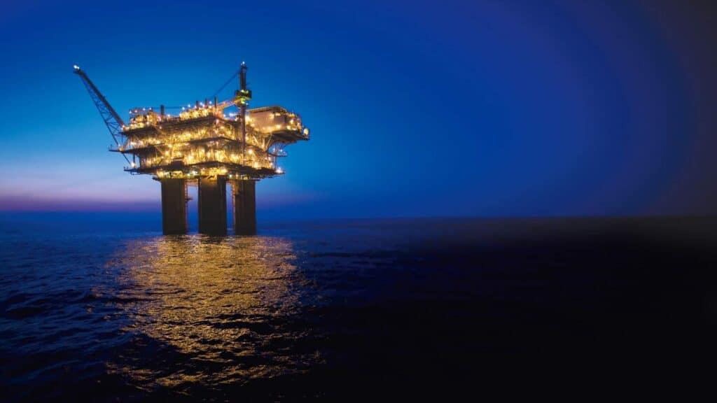 Платформа BHP Shenzi Petroleum у глибоководній Мексиканській затоці